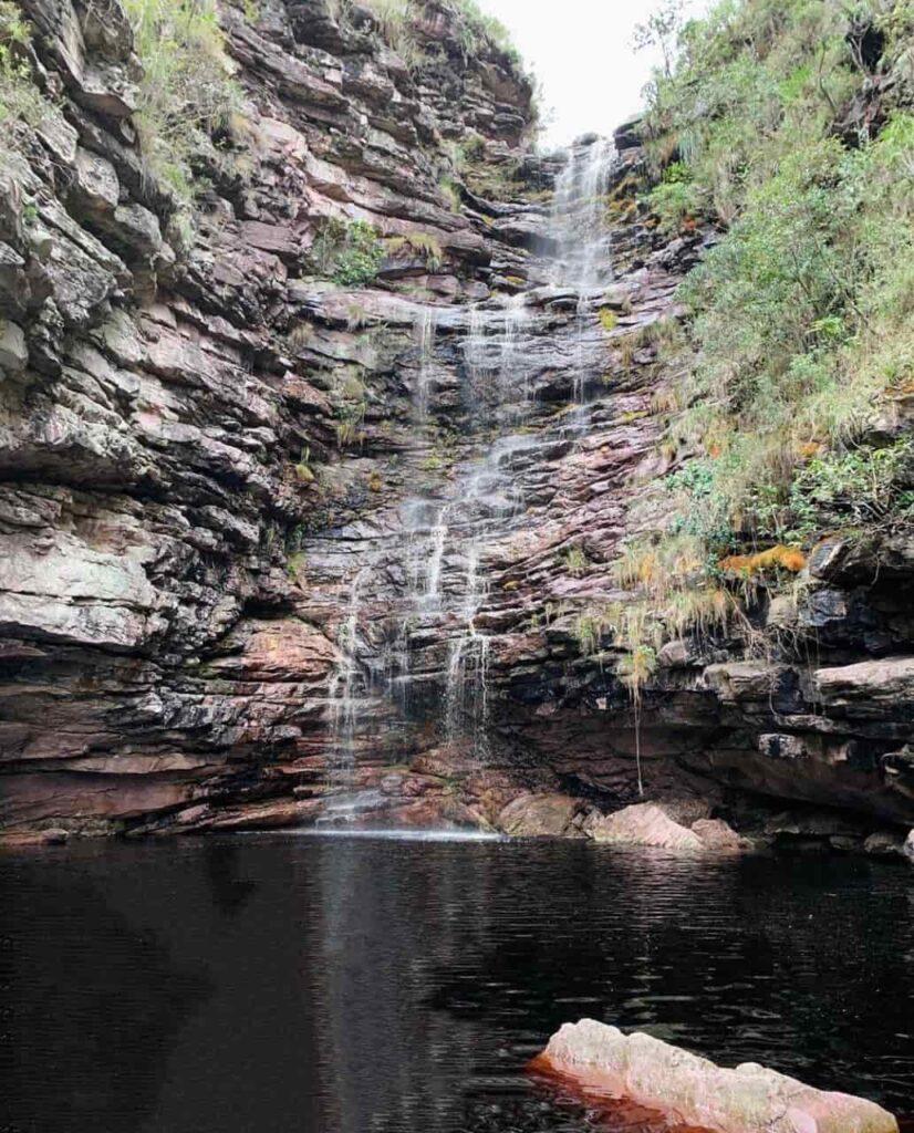 Atrações de Mucugê Ba - Cachoeira Córrego de Pedra