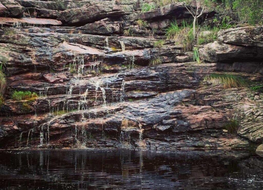 Atrações de Mucugê Ba - Cachoeira da Moça Loira