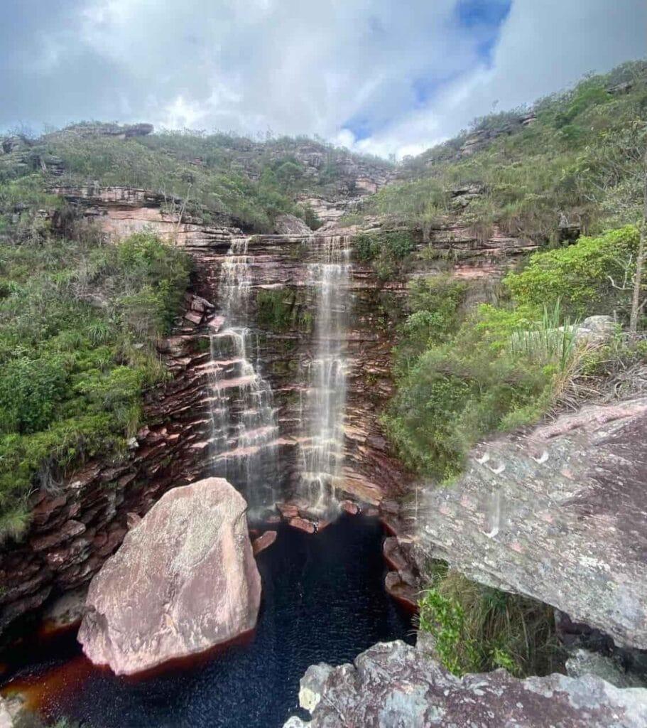 Atrações de Mucugê Ba - Cachoeira das Três Barras