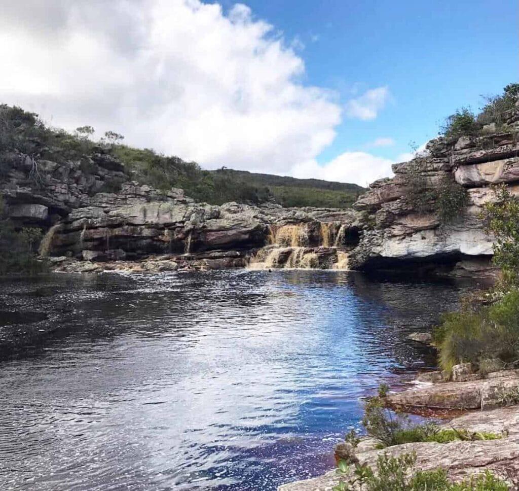 Atrações de Mucugê Ba - Cachoeira do Cardoso