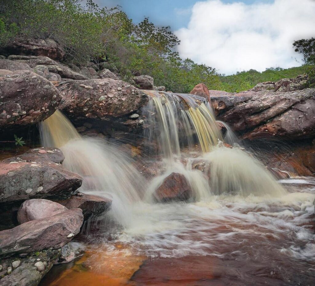 Cachoeiras de Igatu -Ba , Córrego do Meio