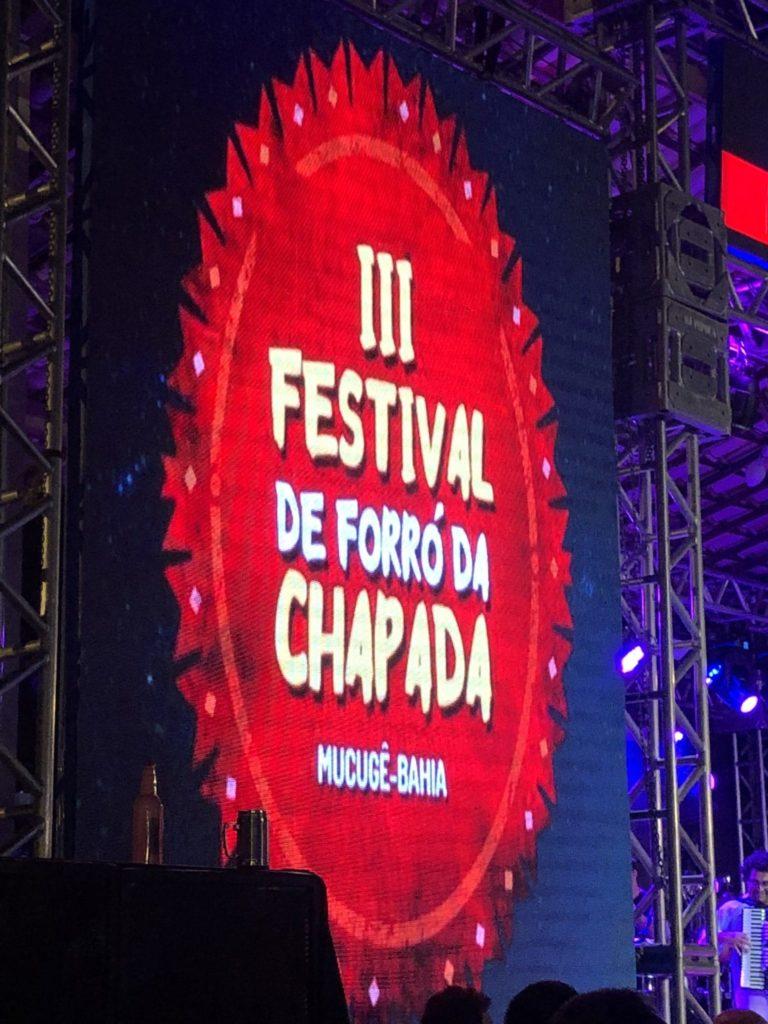 III Festival de Forró da Chapada em Mucugê Bahia