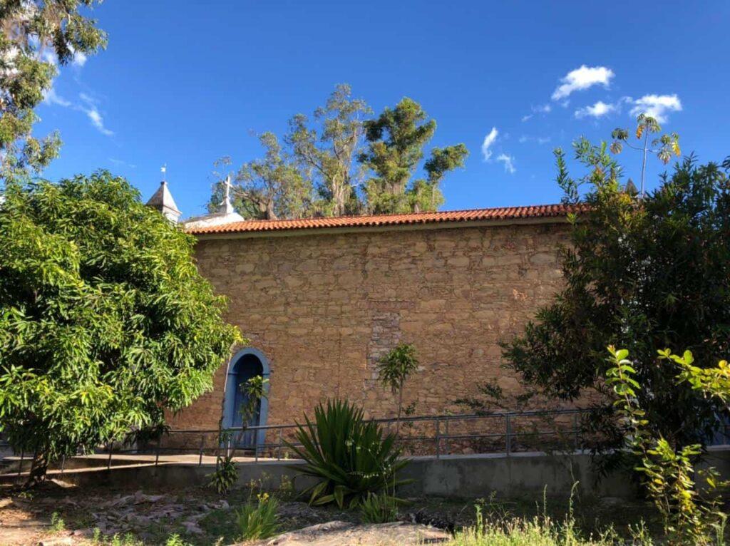 Igatu - Ba A vila de pedra da Chapada Diamantina - Ba - Igreja de São Sebastião