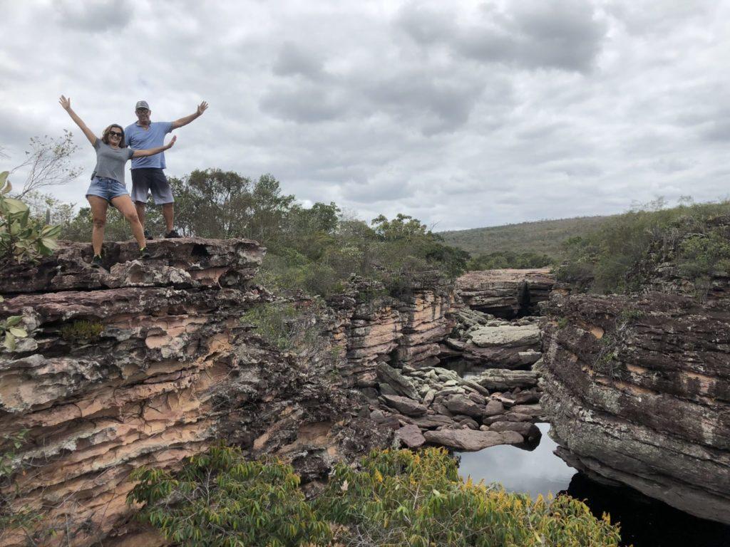 Mirante do Buracãozinho na trilha da Cachoeira do Buracão