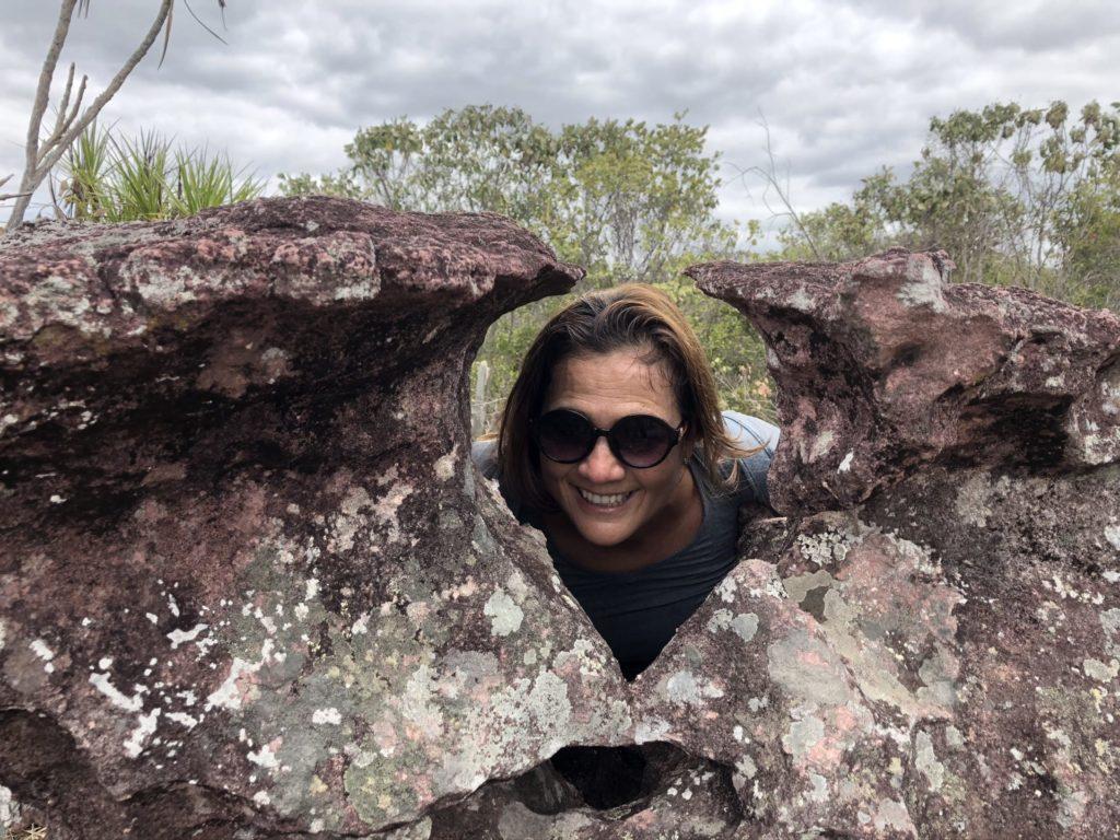 Trilha da Cachoeira do Buracão - Chapéu de Maria Bonita