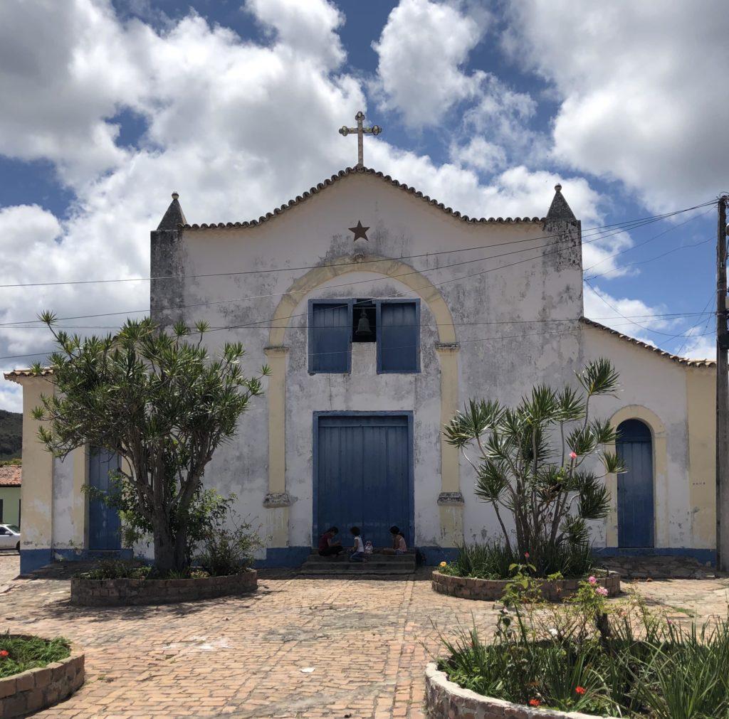 Igrejinha na cidade de Mucugê Ba