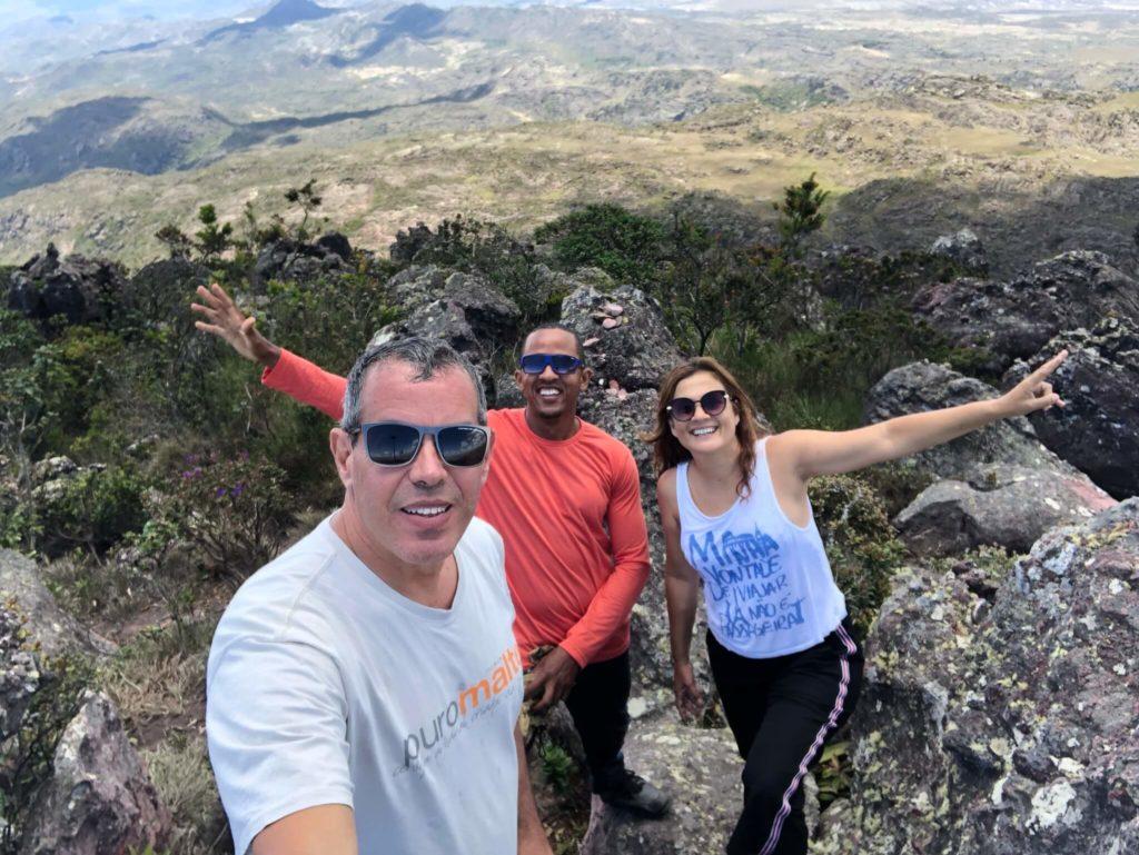 Enfim, chegamos ao topo do Pico das Almas