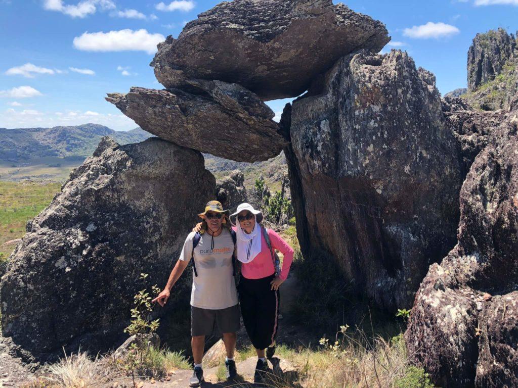 Portal das Almas, na trilha para o Pico das Almas em Rio de Contas