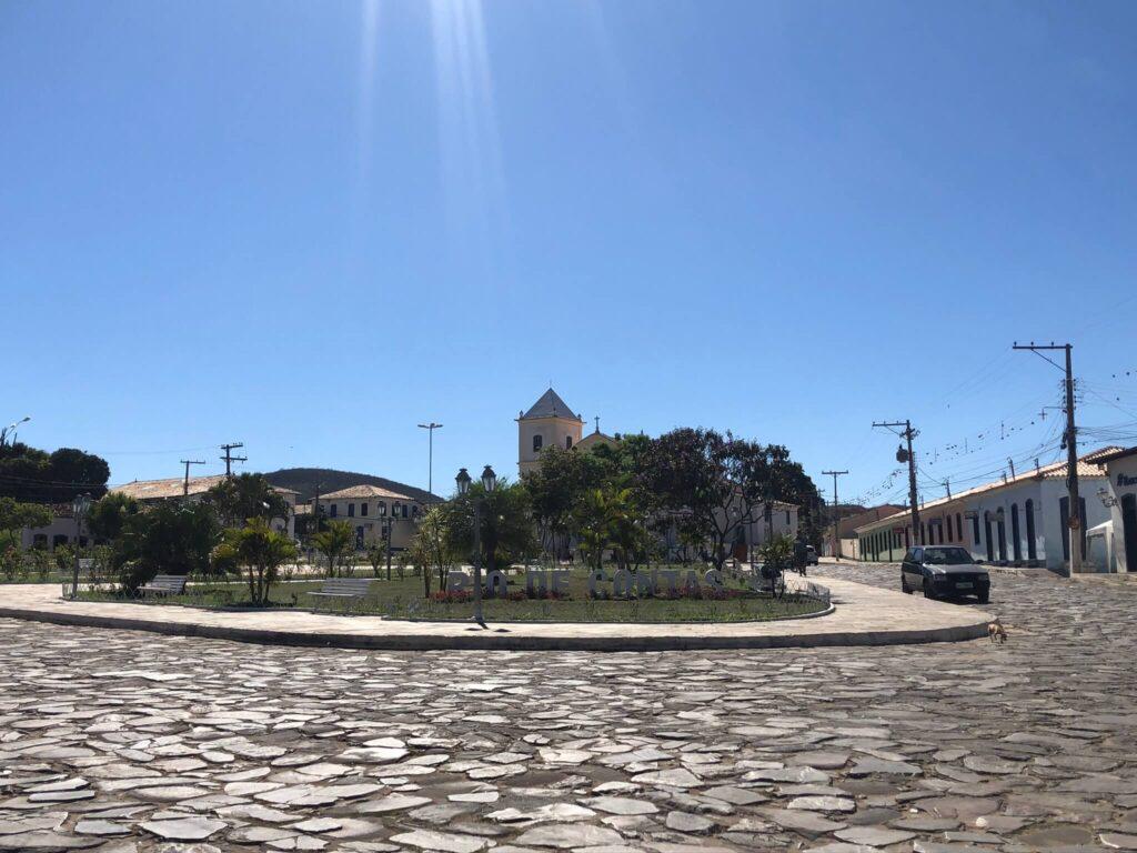 Centro Histórico de Rio de Contas - Praça principal
