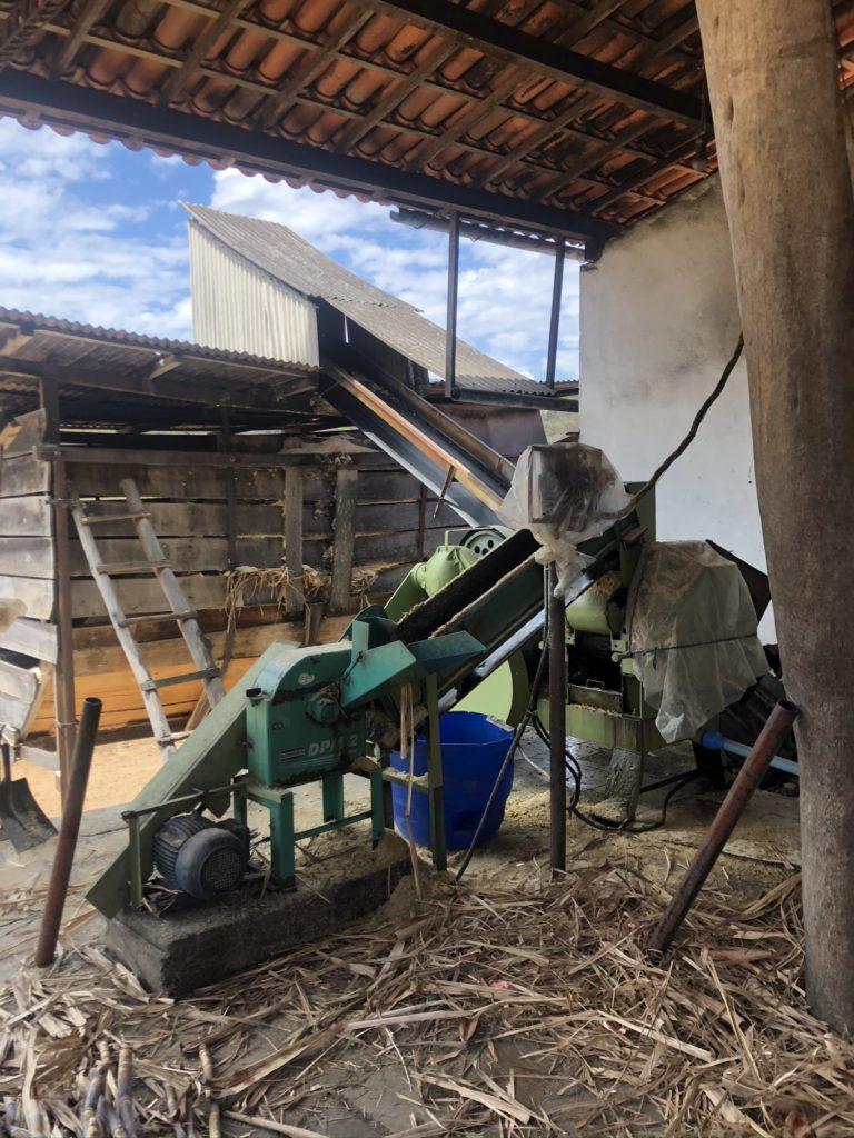 Produção de cachaça na Fazenda Vaccaro