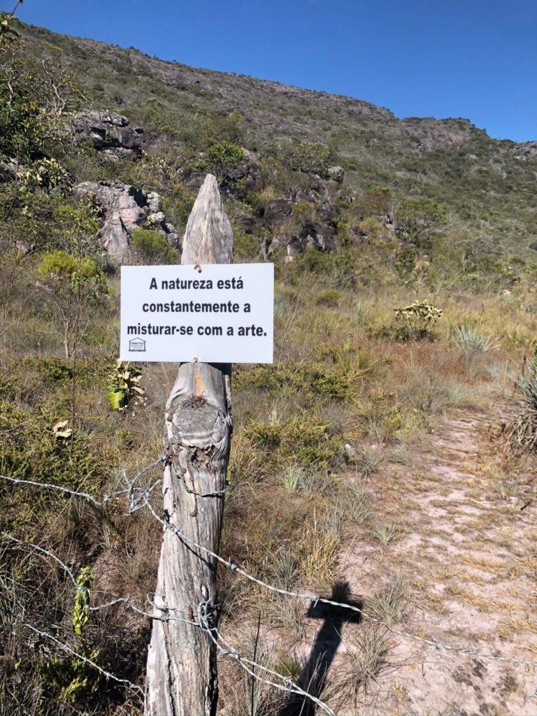 Inicio da Trilha para o Pico das Almas