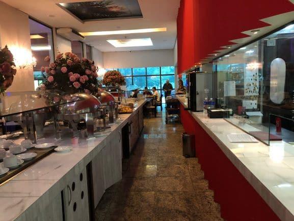Café da Manhã no Hotel Girassol Plaza em Palmas - Tocatins