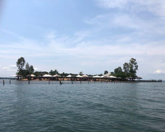 O que fazer na Ilha do Canela -Logo do barco já fiquei encantada com vista da Ilha