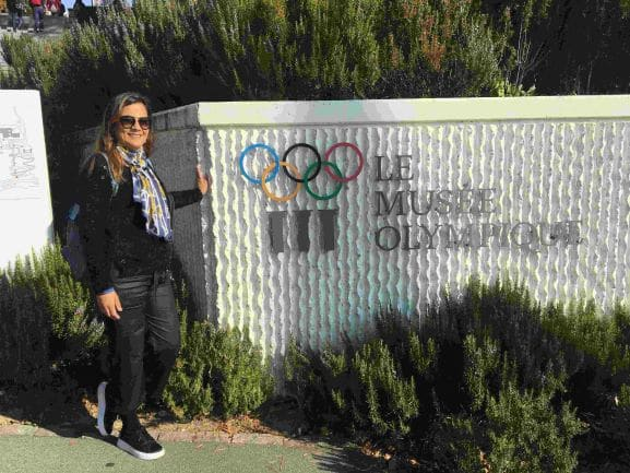 Museu Olímpico de Lausanne -Uma emoçao conhecer a História dos Jogos Olímpicos