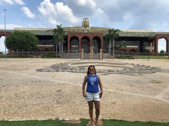 Palácio Araguaia - Projetada pelos arquitetos Maria Luci da Costa e Ernani Vilela, a sede do Poder Executivo Estadual levou apenas 13 meses para ser construído