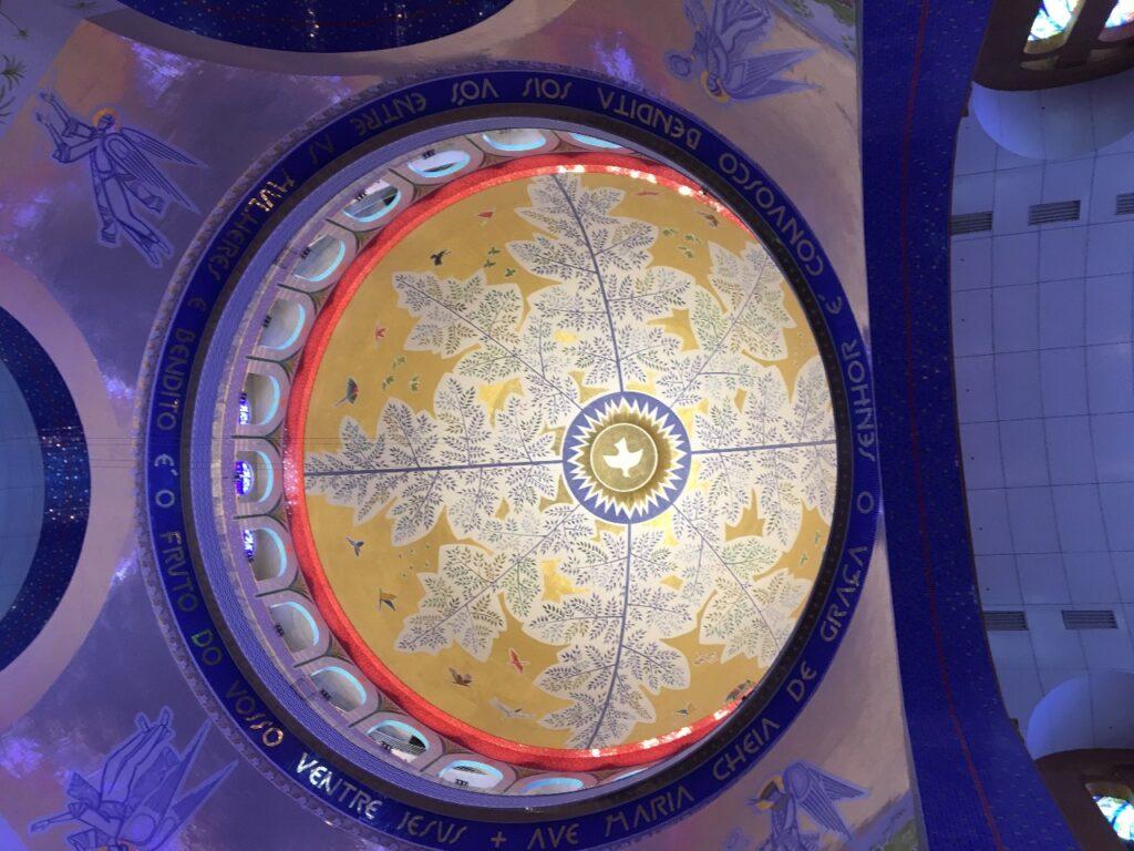 Santuário de Aparecida visto do Tour que dá acesso a Cúpula da Basílica - Cúpula