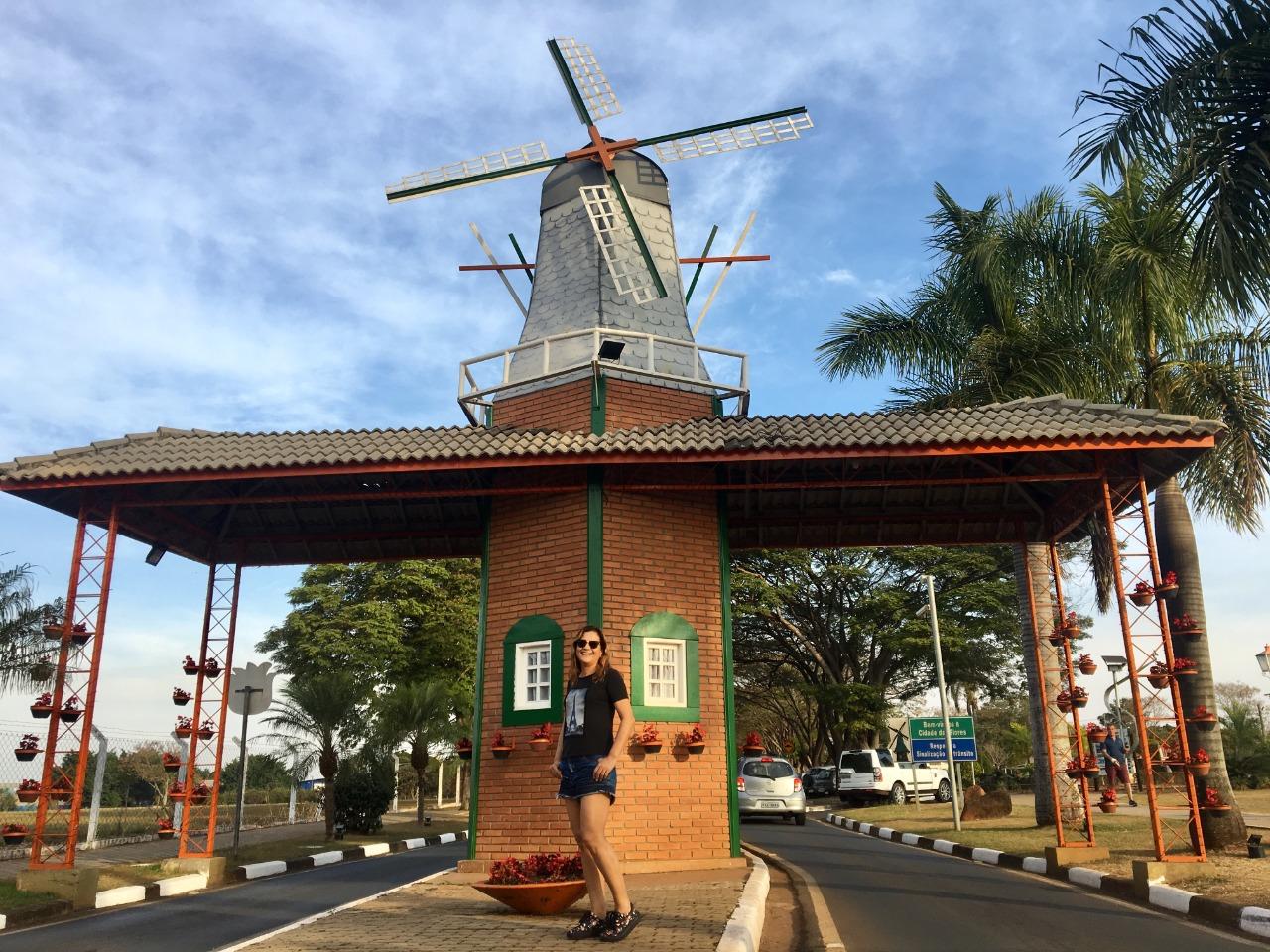 Holambra, município do interior paulista, é conhecido como Capital Nacional das Flores
