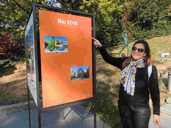 Museu Olímpico de Lausanne -Relembrando as Olimpíadas do Rio