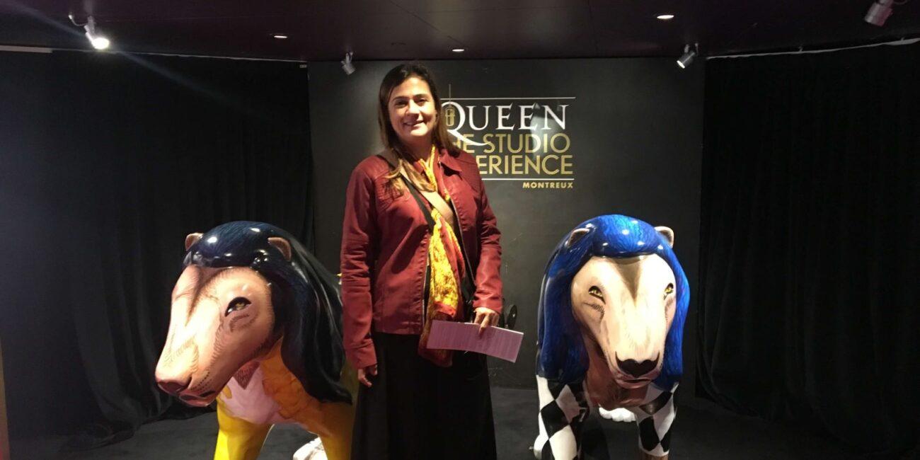 Queen Studio Experience - Um passeio imperdível em Montreux que conta um pouco da história musical do Queen e de Freddie Mercury