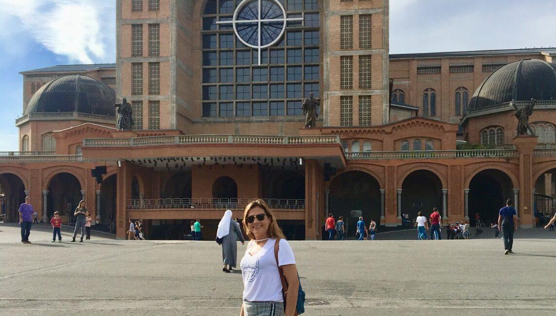 Santuário de Aparecida - Em Aparecida SP fica a segunda maior catedral do mundo, perdendo apenas para o Vaticano