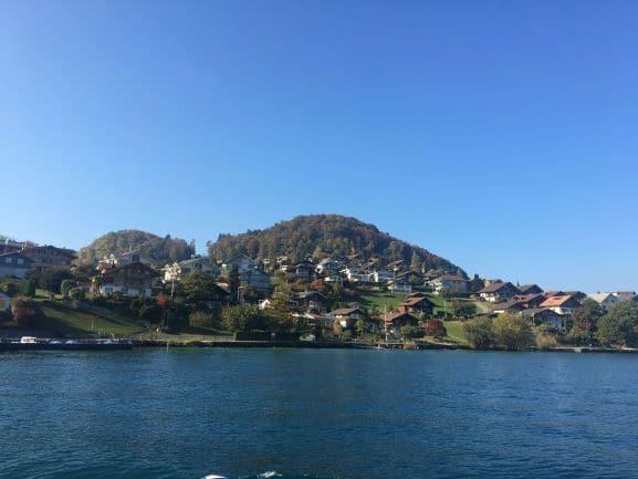 Um pouco mais sobre Spiez - uma linda comuna que tem cerca de 12 mil habitantes