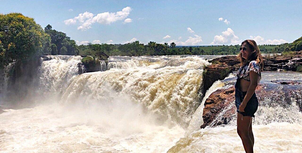 Cachoeira da Velha no Jalapão – TO - Um grande espetáculo