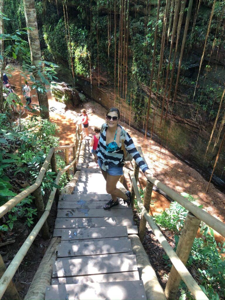 Como chegar ao Cânion Sussuapara no Jalapão - Fica a 15 Km de Ponte Alta do Tocantins e o acesso é bem fácil