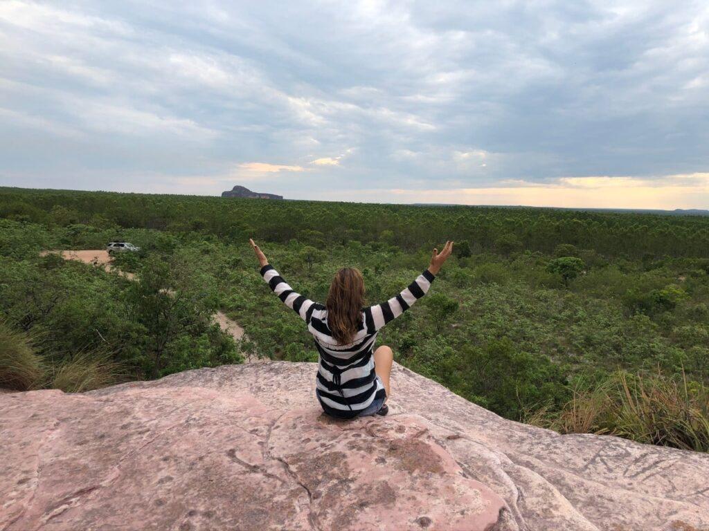 Melhor lugar para assistir ao por do sol na Pedra Furada Jalapão Tocantins