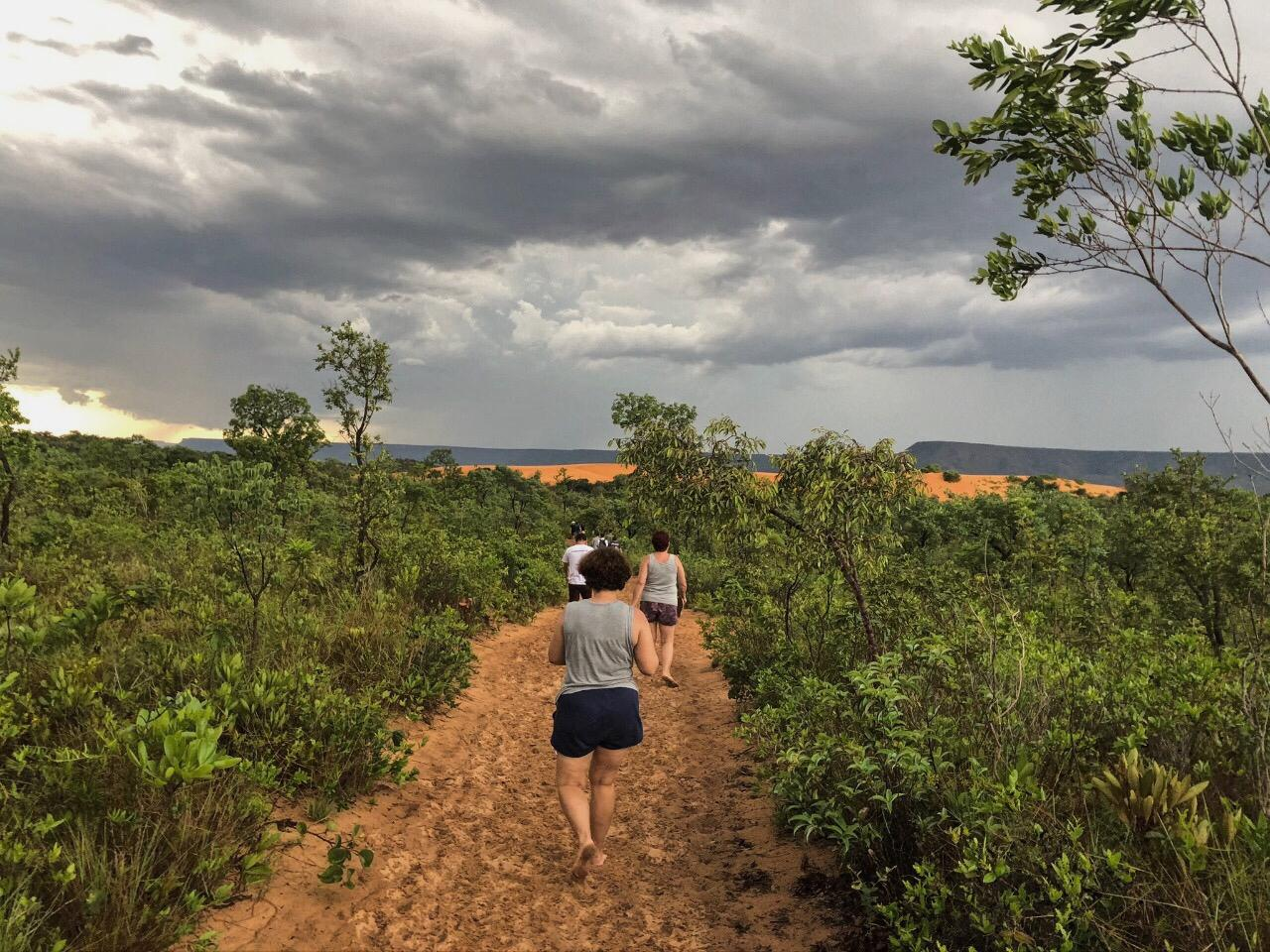 Trilha que leva ao Deserto ou Dunas do Jalapão