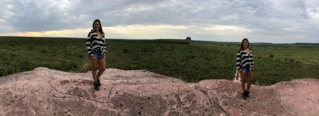 Vista imperdível da Pedra Furada do Jalapão