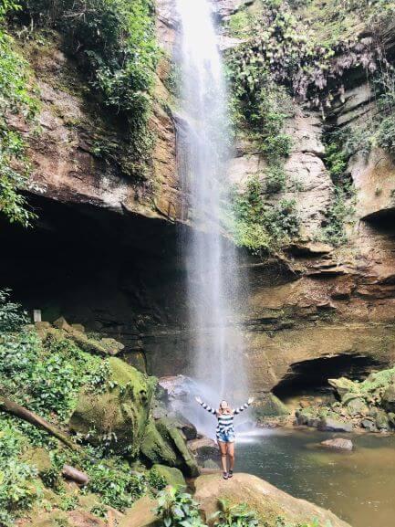 Cachoeiras do Jalapão: Cachoeira da Roncadeira