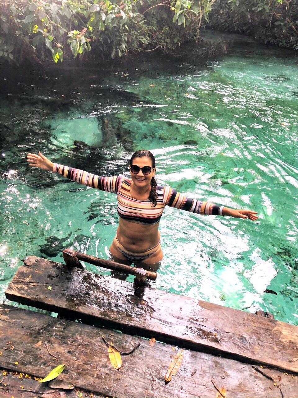 Estrutura de acesso a Cachoeira do Formiga - Jalapão - Tocantins