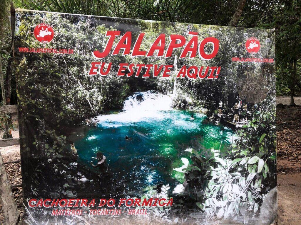 Estrutura do local na Cachoeira do Formiga - Jalapãp