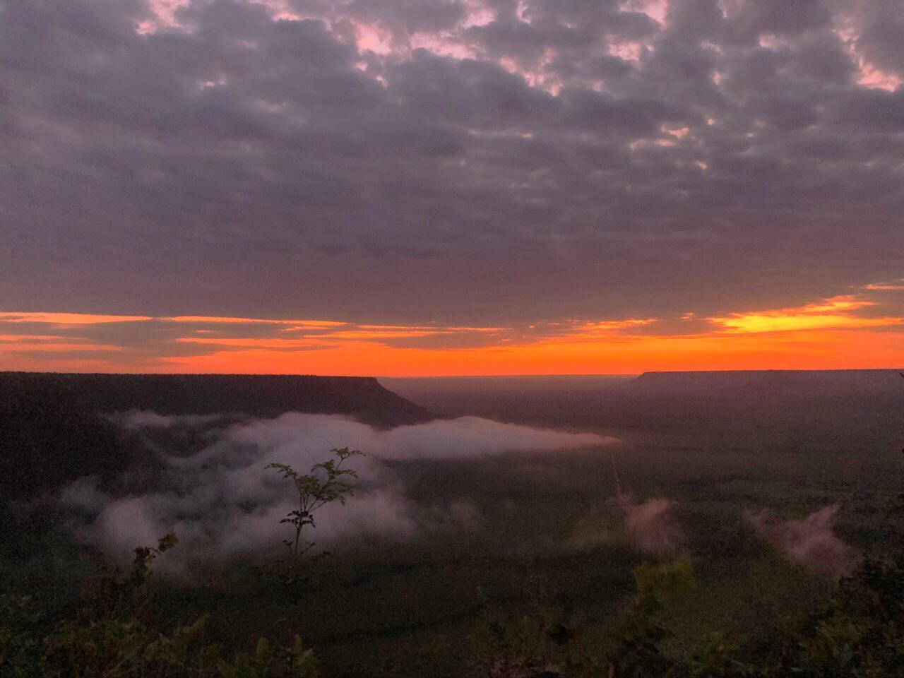 O espetáculo: Nascer do sol na Serra do Espirito Santo Jalapão TO