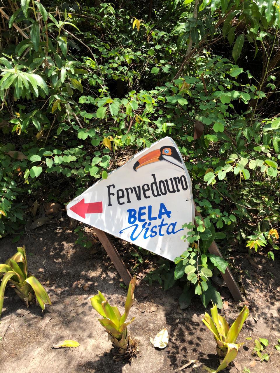 Chegada no Fervedouro Bela Vista - Jalapão