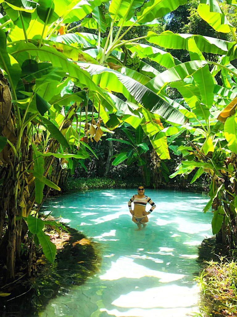 Fervedouro do Ceiça - o mais famoso do Jalapão - Tocantins