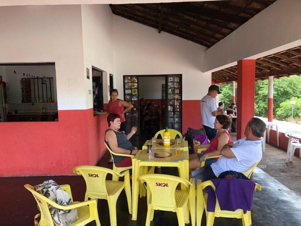 Almoço em Ponte Alta do Tocantins - Jalapão