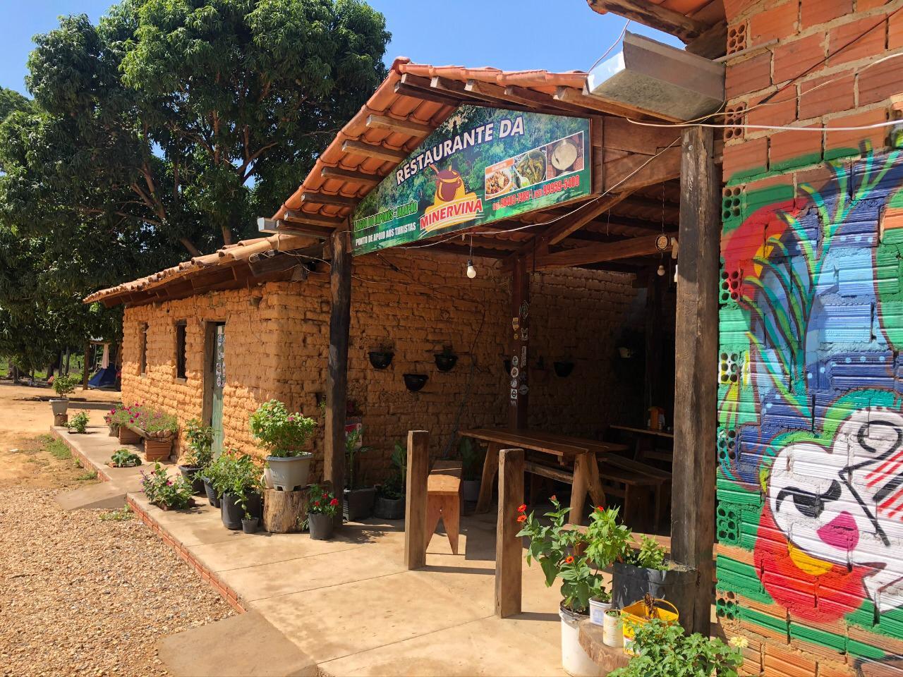 Onde comer quando for a Lagoa do Japonês no Jalapão: Restaurante da Dona Minervina