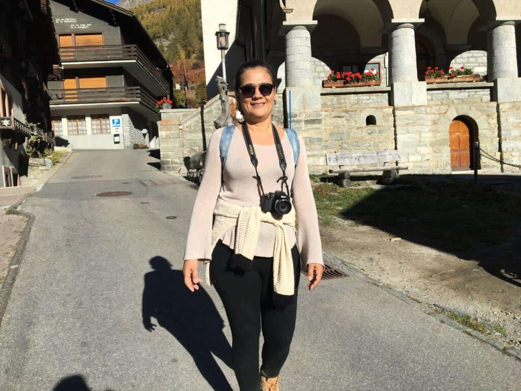 A Ponte suspensa Charles Kuonen, fica na vila de Randa na Suíça