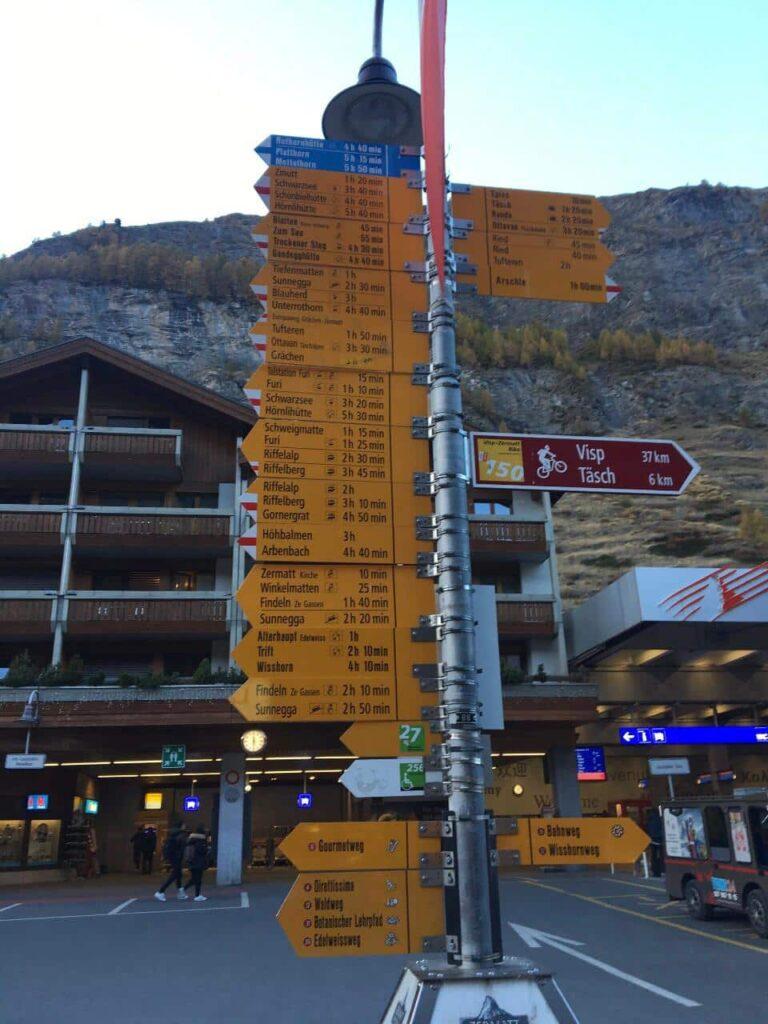 Curiosidades sobre Zermatt