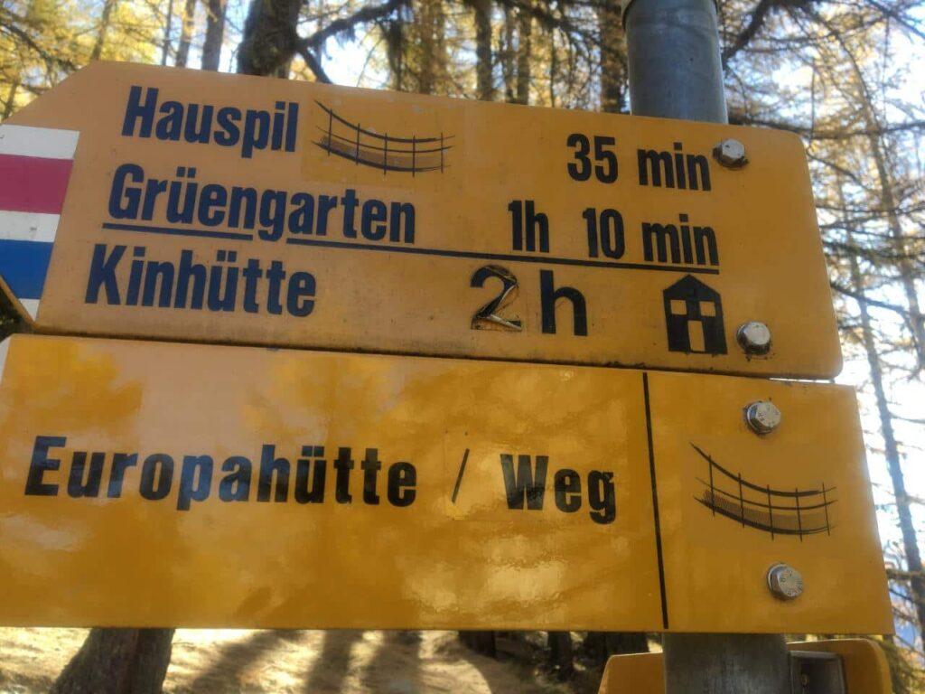 Europaweg - trilhas pela Suiça