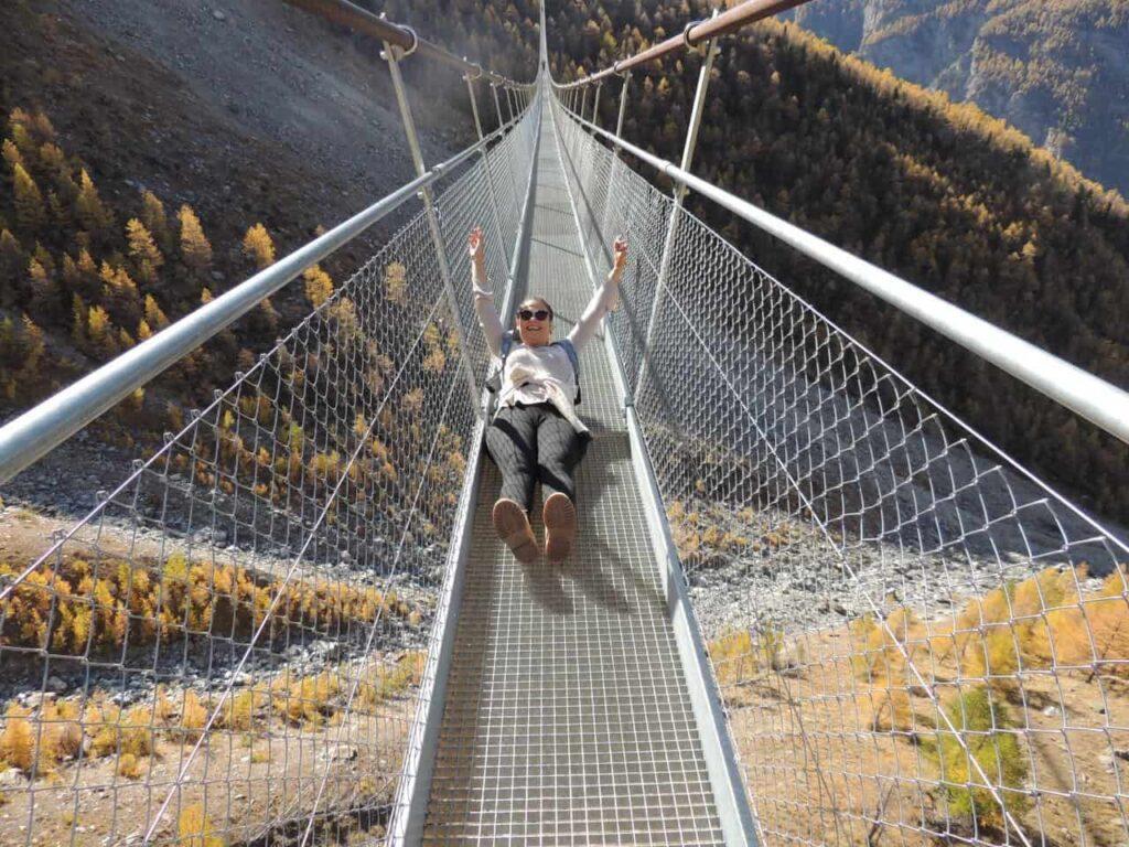 Charles Kuonen Suspension Bridge - A maior Ponte Suspensa do mundo