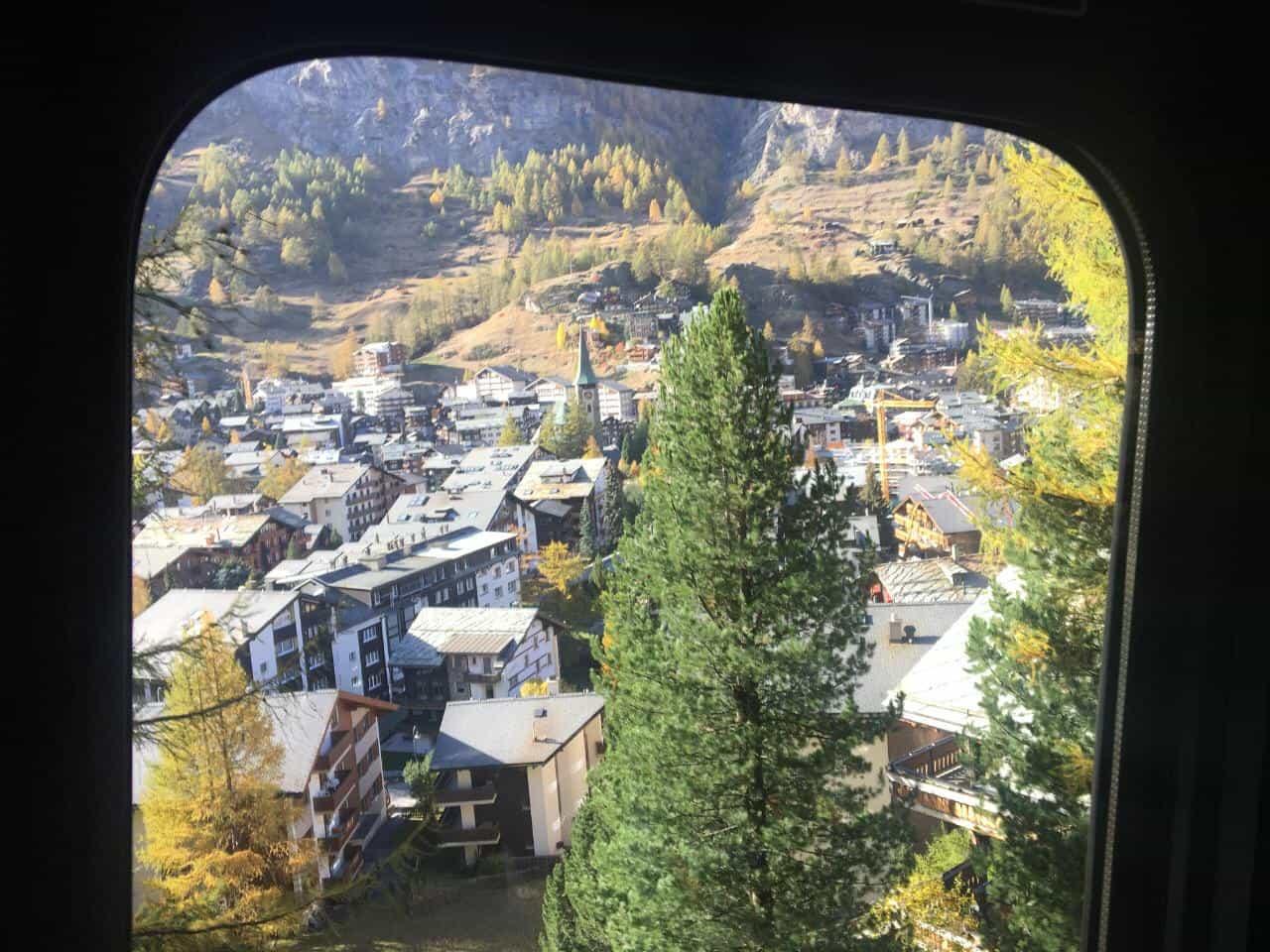 Principalmente, vistas imperdíveis no percurso do Gornergrat-Zermatt
