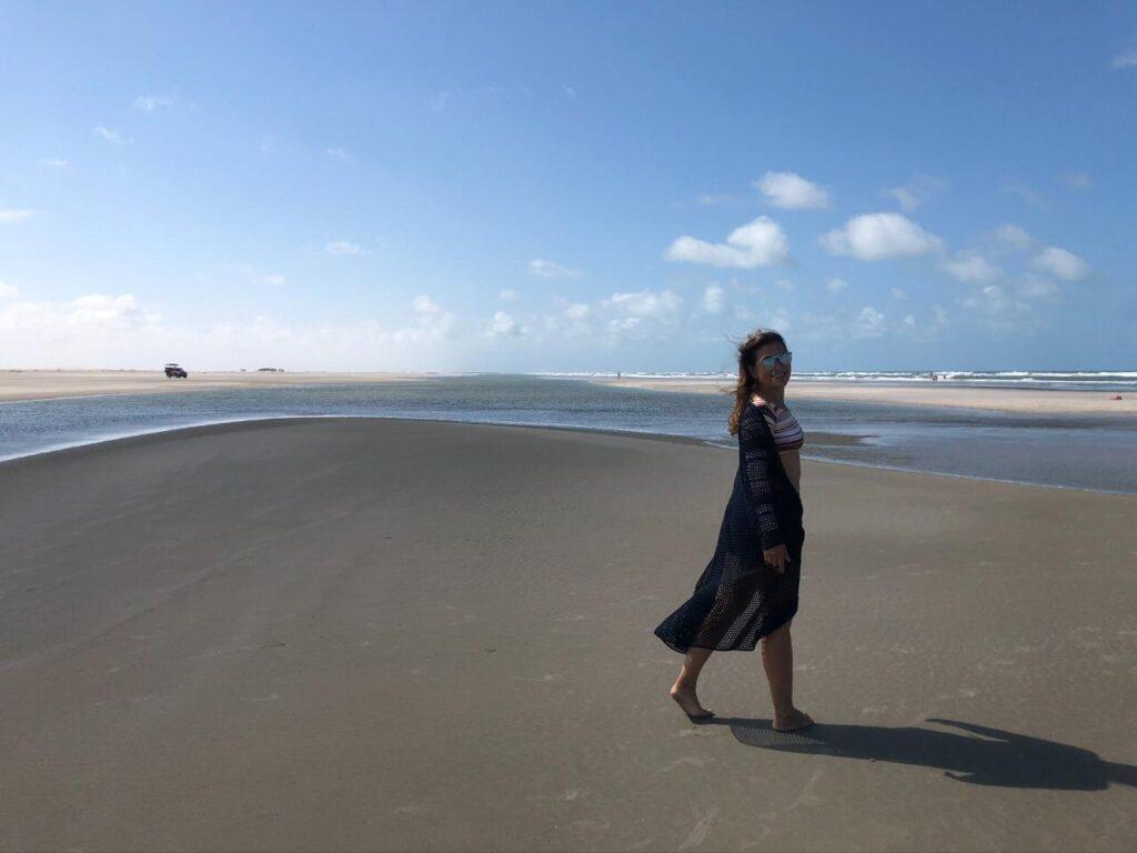 A beleza e a imensidão da Praia Canto de Atins