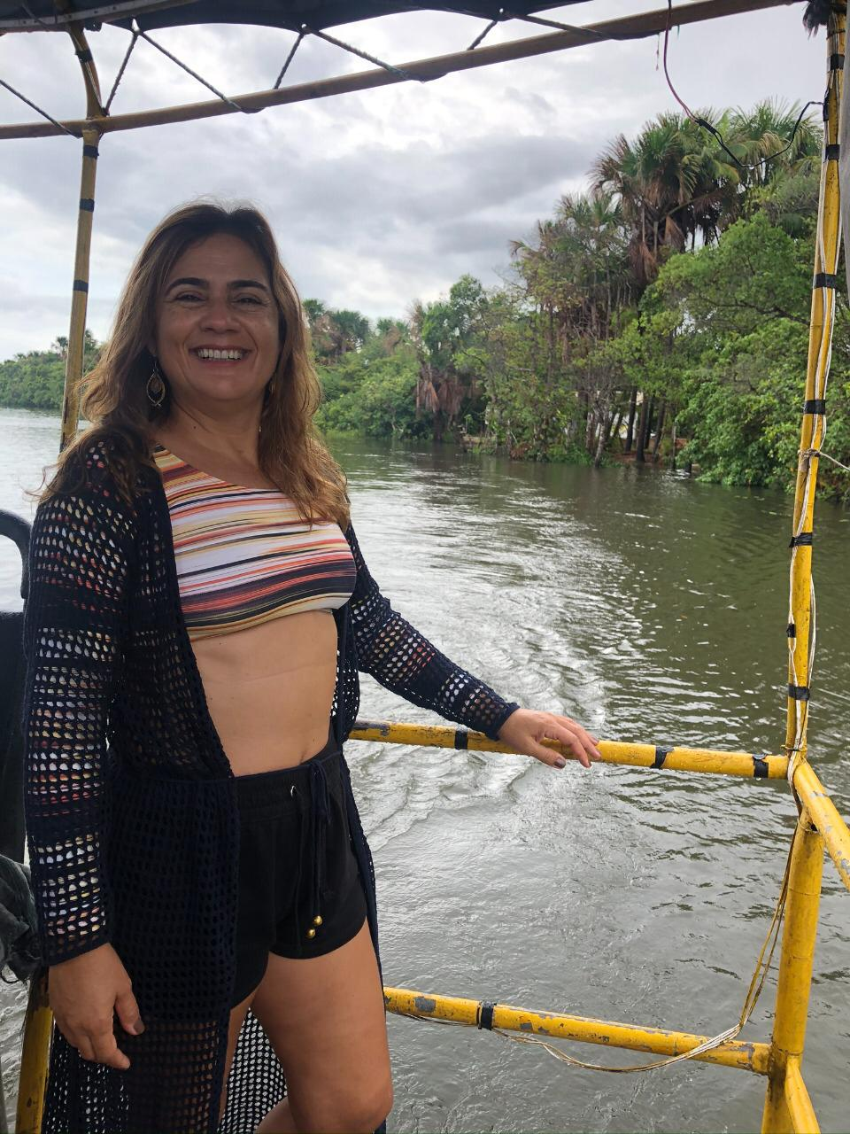 Travessia de Balsa no Rio Preguiças, Lençóis Maranhenses