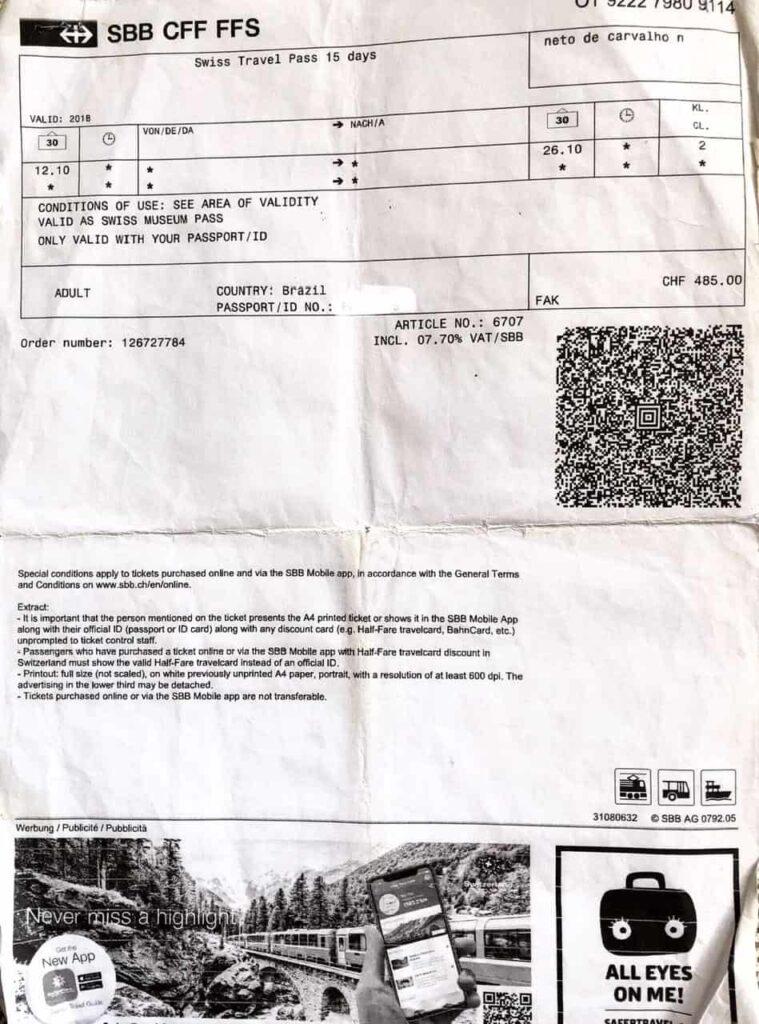 Swiss Pass, quanto custa e vale a pena?