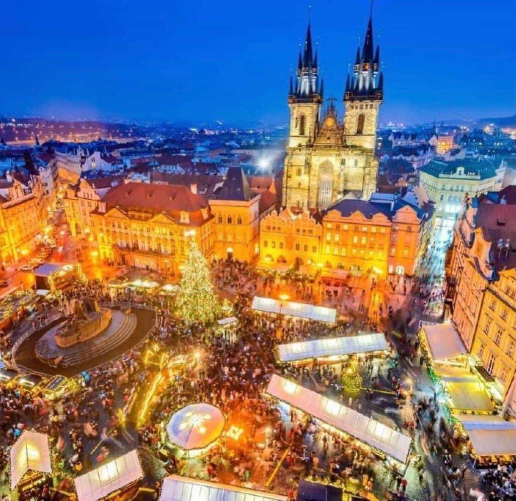 Dez cidades para se aproveitar o Natal pelo mundo - Praga - República Tcheca