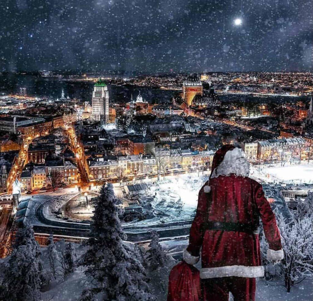 Dez cidades para se aproveitar o Natal pelo mundo - Quebec - Canadá