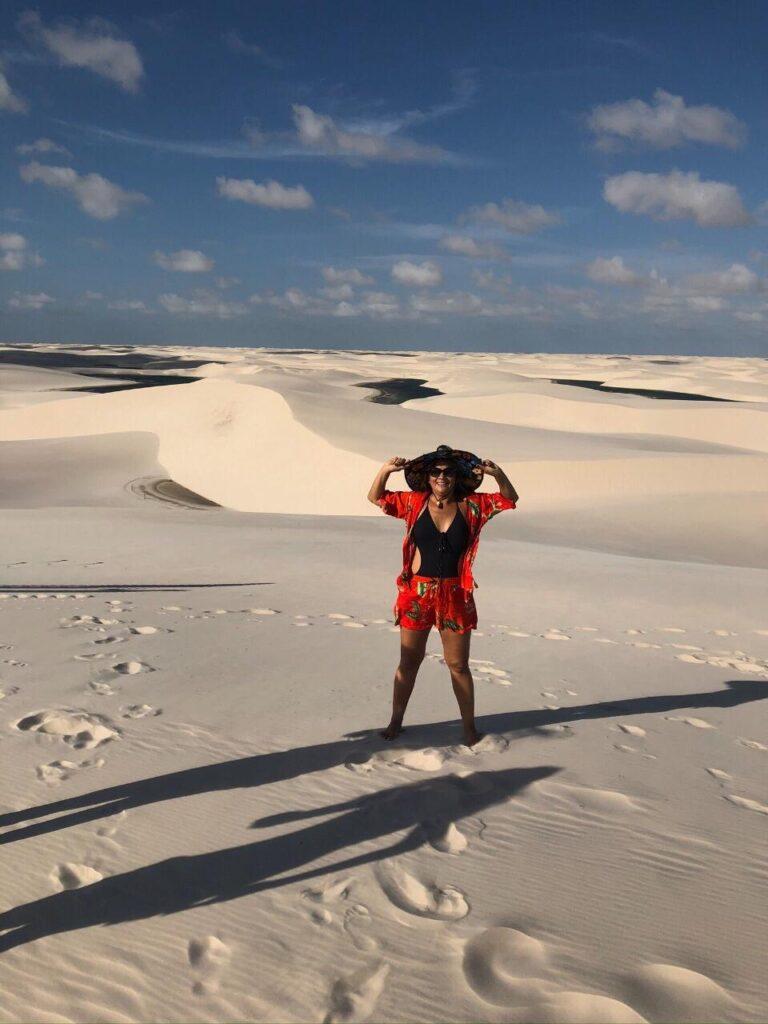 Lençois Maranhenses - Imagem das dunas infinitas e suas lagoas