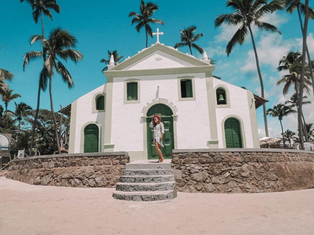 Capela de São Benedito em Praia dos Carneiros PE